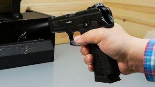 Пневматический пистолет Gletcher MP 443 (Грач) видео обзор