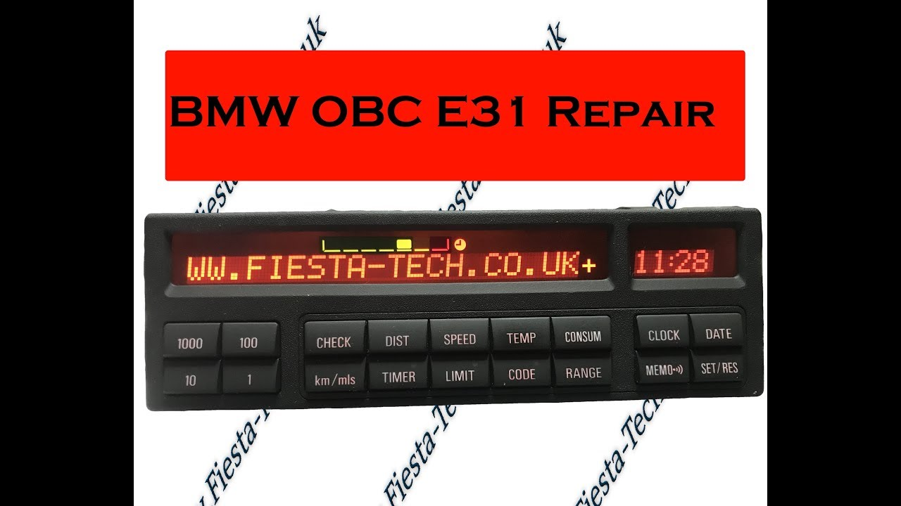 Bmw E31 Obc  Mid Pixel Repair Service By      Fiesta