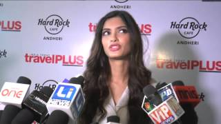 Diana Penty unveiled Travel Plus Nov. 2014 cover