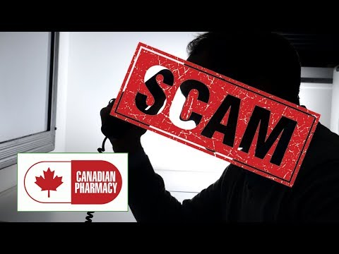 CANADIAN PHARMACY SCAMMER TRIES TO SELL ME VIAGRA!