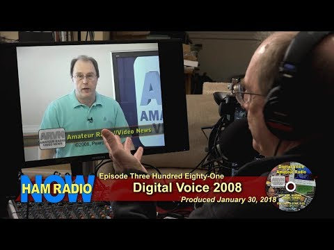 HRN 381: Digital Voice 2008 on Ham Radio Now