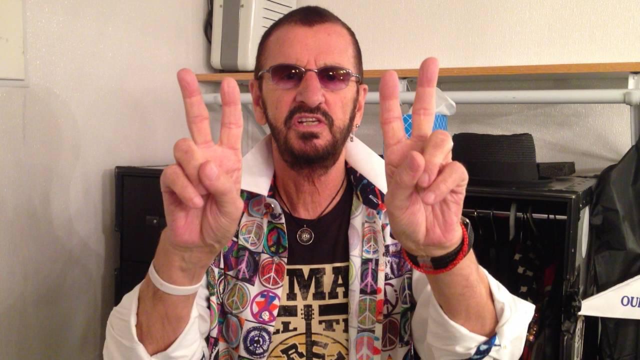 Ringo Starr's Birthday Wish for July 7 2016 - YouTube