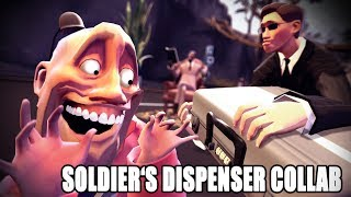 Soldier acquires a briefcase (Soldier's Dispenser Collab Entry)