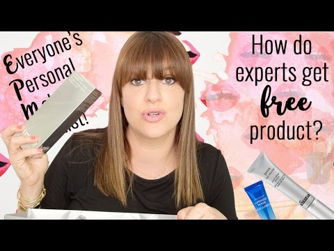 How do makeup artists get free product?!