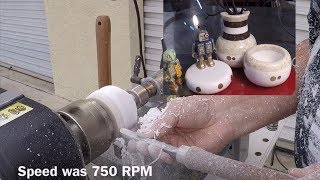 How To Turn Corian on the Wood Lathe -