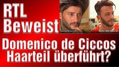 Dominico de cicco Haarteil der Beweis Domenico de cicco seine Haare und die Haarverpflanzung Glatze