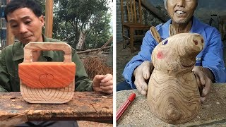 Amazing 11 creative ideas handcraft make item useful from bamboo and Wood