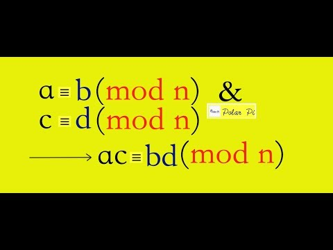 Number Theory: Modular Arithmetic - [Multiplication] - (Example & Proof)