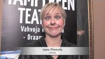 Ohjaaja Leea Klemola ensi-illan jälkeen