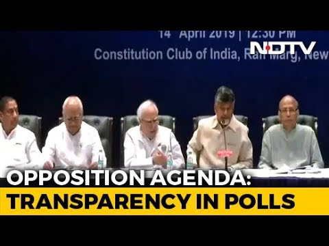 Chandrababu Naidu Leads Opposition Attack Over EVMs, Demands Ballot Votes
