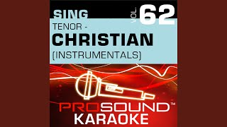 Awesome God Karaoke With Background Vocals In the Style