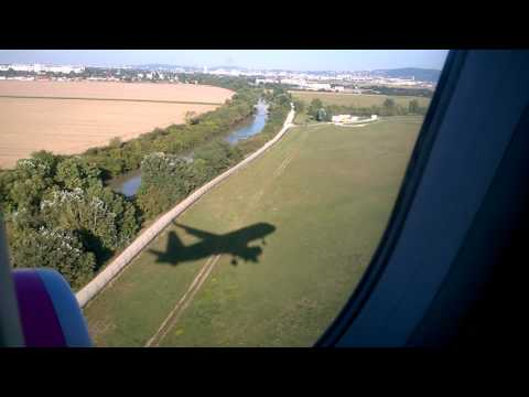 Wizz air Airbus A 320, HA - LYH landed in Bratislava from Warsaw.