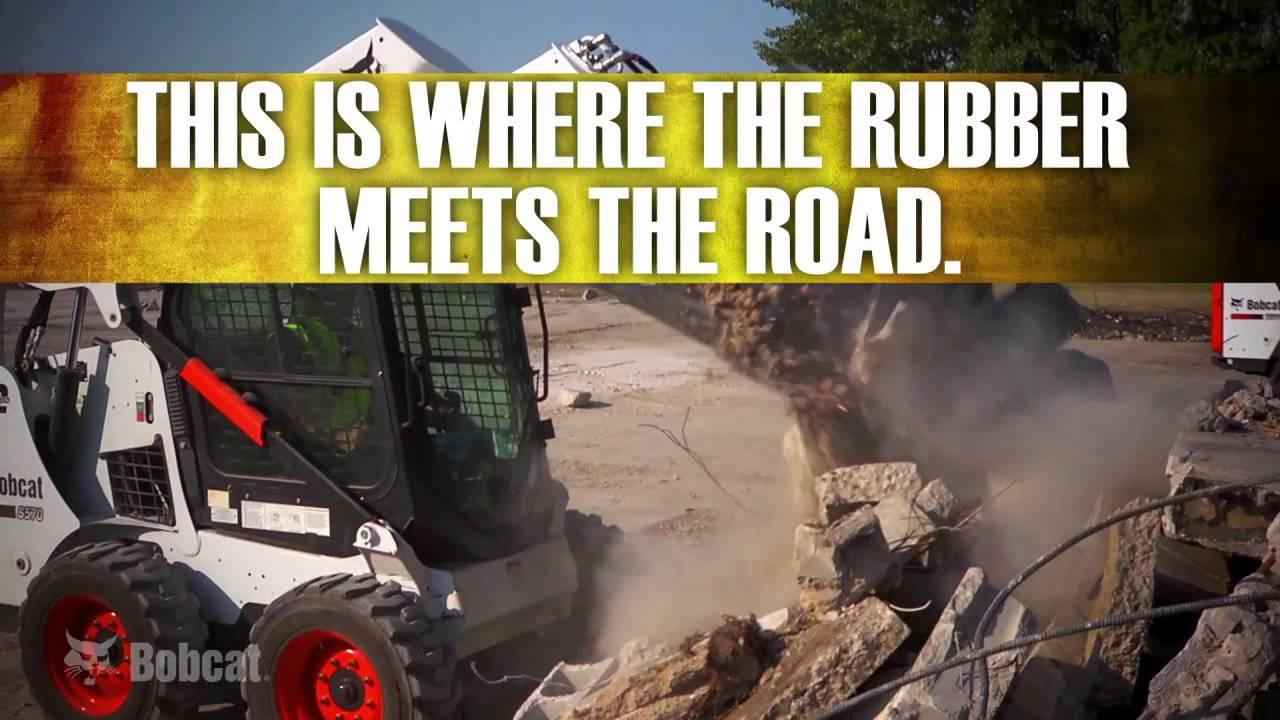 Youtube Video: Genuine Bobcat Tires