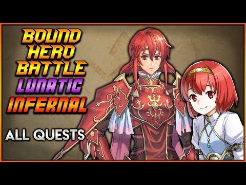 [F2P] LUNATIC + INFERNAL, ALL QUESTS CLEARED Minerva Maria BHB - Fire Emblem Heroes