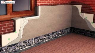 Применения перлитоцементной теплоизоляции (утеплителя) в коттеджном и малоэтажном строительстве