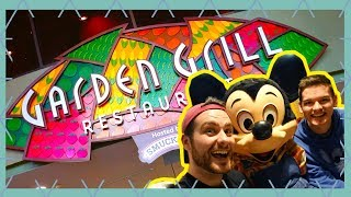 Garden Grill Character Dining Review Epcot  Walt Disney World Vlog April 2018