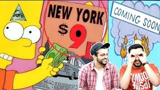 10 Simpsons(Illuminati) ASSUMPTIONS THAT CAME TRUE! (Hindi Urdu)