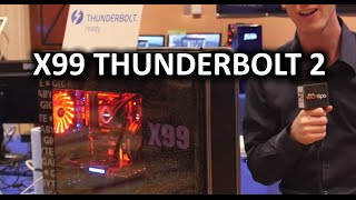 Tiny PCs Get More Powerful than Ever & X99 Thunderbolt 2 - CES 2015