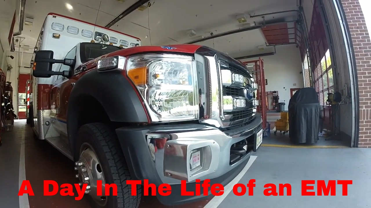 A Day In The Life Of An Emt Youtube