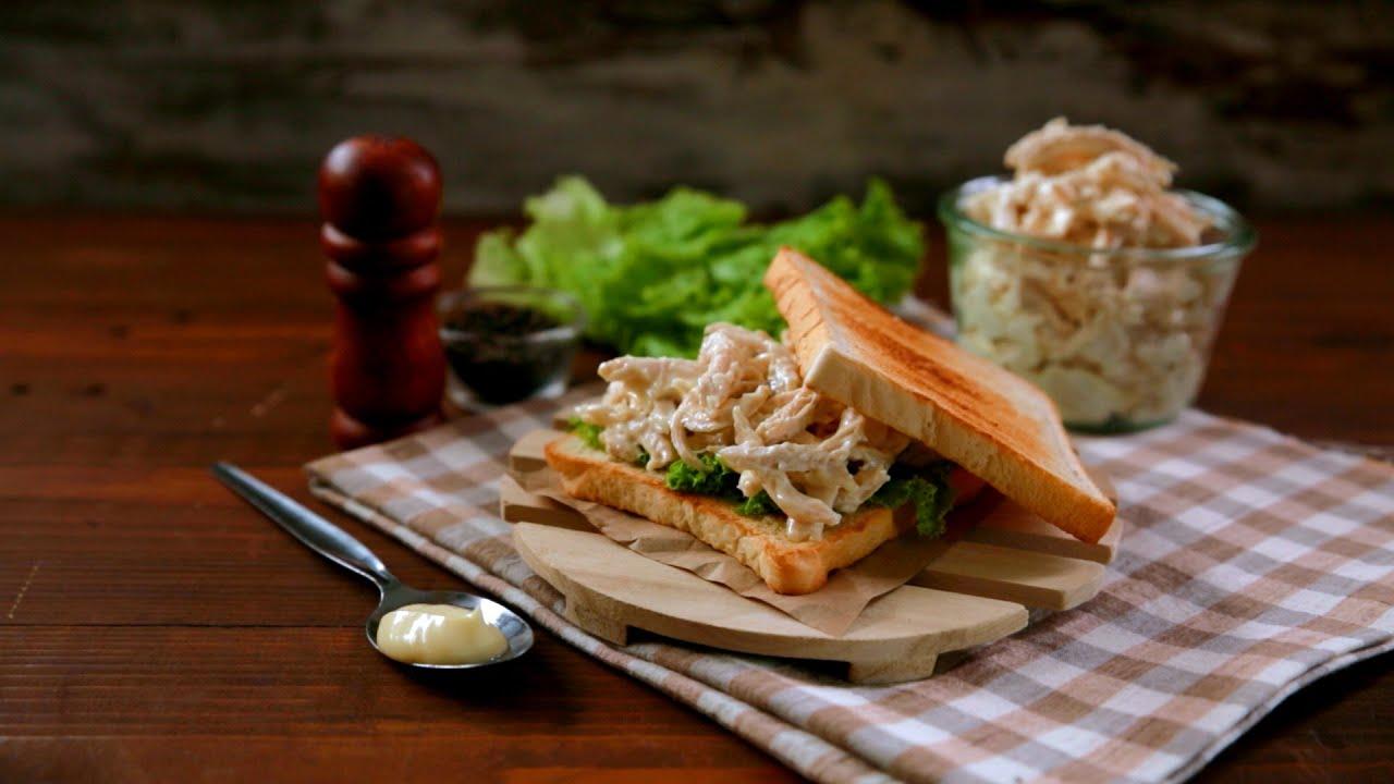 Simple chicken sandwich recipe filipino style