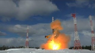 Watch: Russia test launches new intercontinental ballistic missile