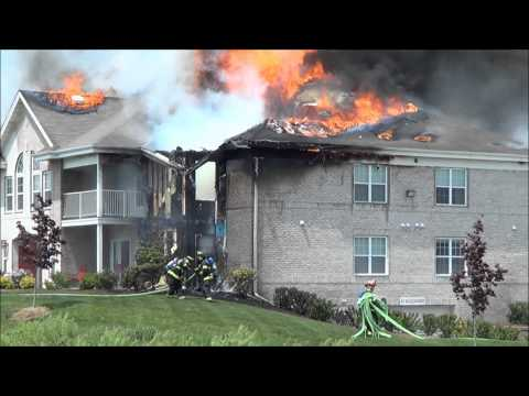 Wyndridge Apartment Fire in New Berlin, WI on May 20th 2012