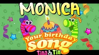Tina&Tin Happy Birthday MONICA