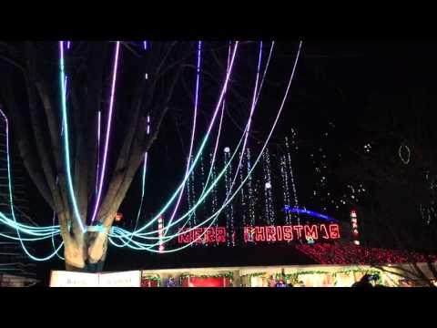 Liberty Street (Deer Park) Christmas 2015 First Lighting