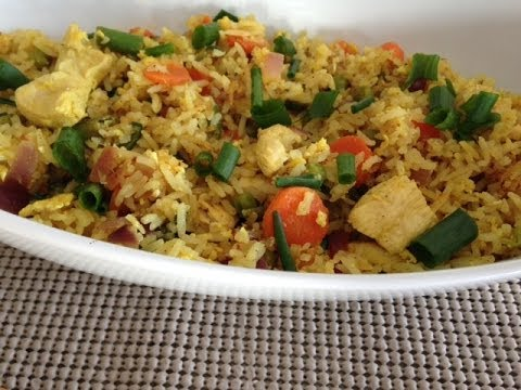 Quick Chicken Fried Rice Recipe