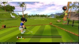 Xenia Xbox 360 Emulator - Golf Tee It Up! ingame! (076c73b/Jun 23 2016)