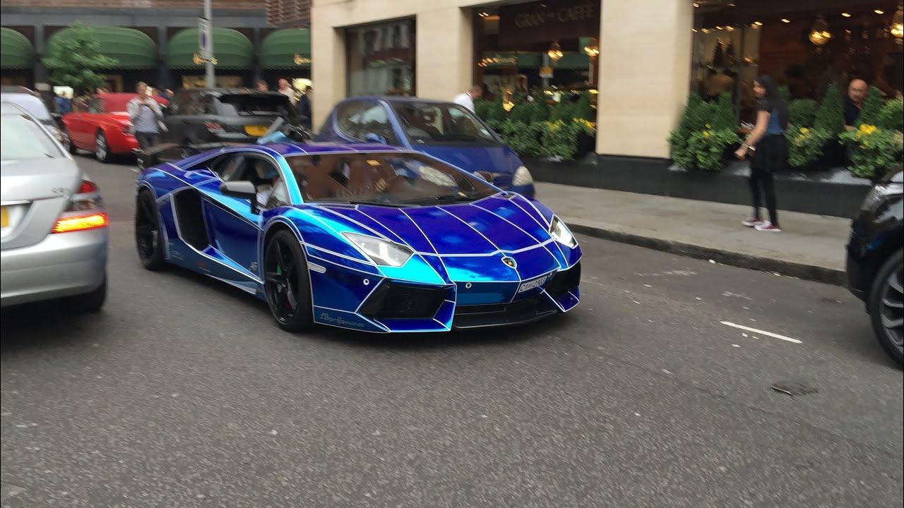 Arab Supercars In London Knightsbridge Youtube