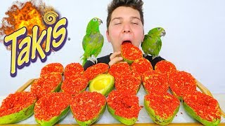 Watch me make and eat Giant Takis Fire Balls! This is a super easy ...