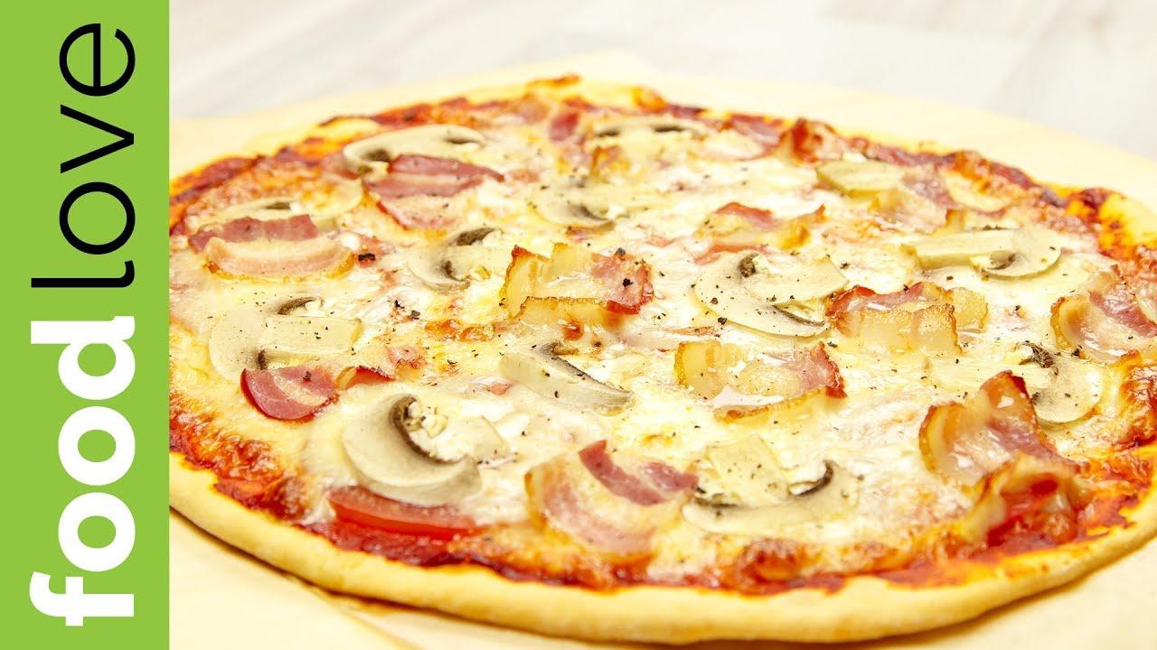 Рецепт: Тесто для пиццы, как в пиццерии на
