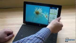 Microsoft Surface Unboxing and First Impressions