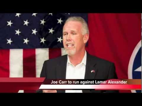 Joe Carr plans to challenge Lamar Alexander for U.S. Senate