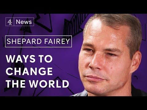 How can street art change the world? - Shepard Fairey of Obey Giant