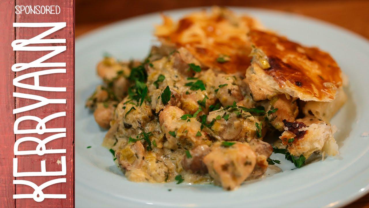Chicken & Mushroom Pie | Kerryann Dunlop