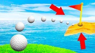 САМЫЙ КРУТОЙ УДАР С ЗАКРУТКОЙ ПРЯМИКОМ В ЛУНКУ! МЕГА 99,5% СЛОЖНАЯ ЛУНКА В ГОЛЬФ ИТ (Golf It)
