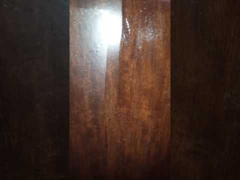 Clear And Matte Finish Surface Protector On Wood Youtube