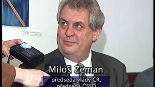 Miloš Zeman 2001