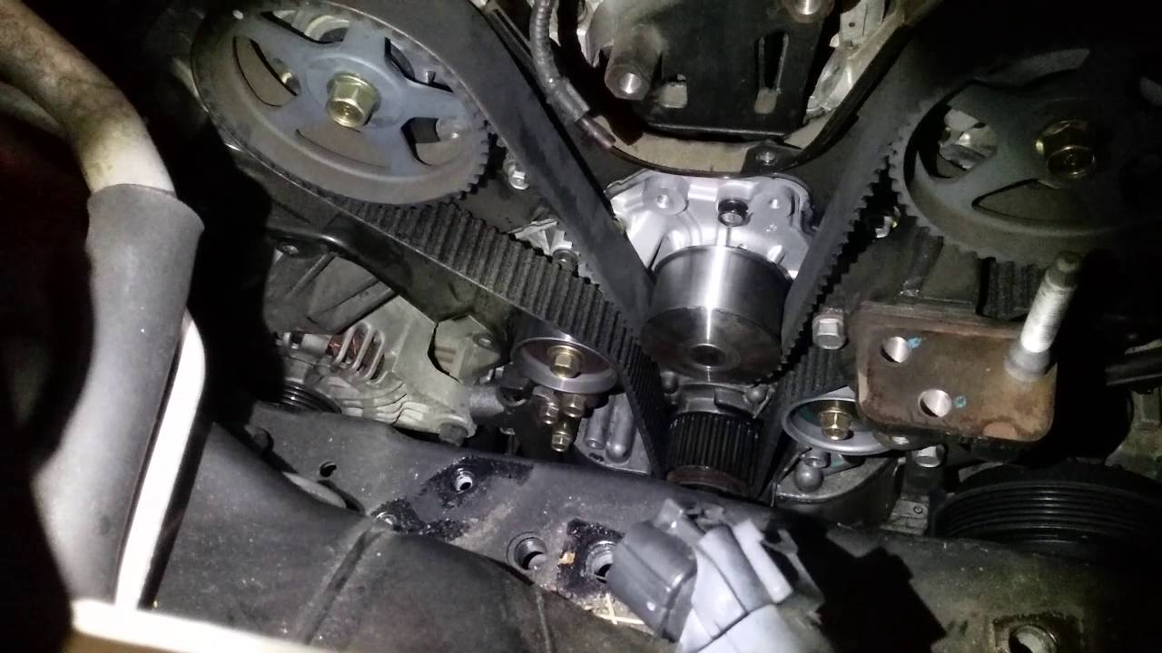 tip for doing a hyundai santa fe 2 7l v6 timing belt