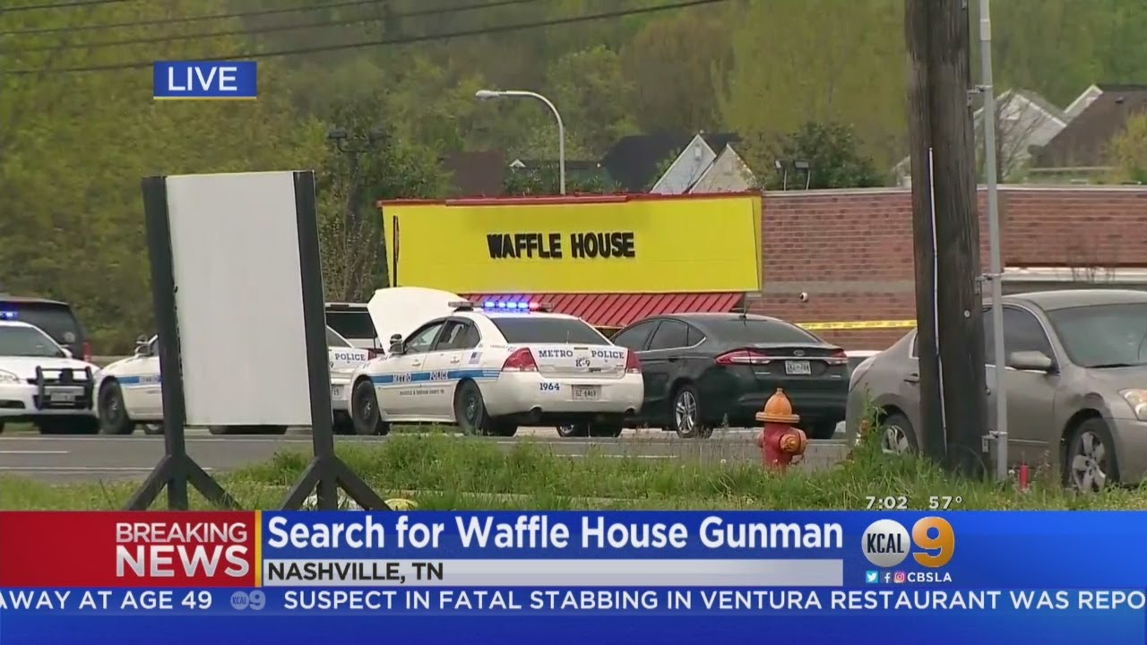4 dead, others wounded in shooting at Tennessee Waffle House