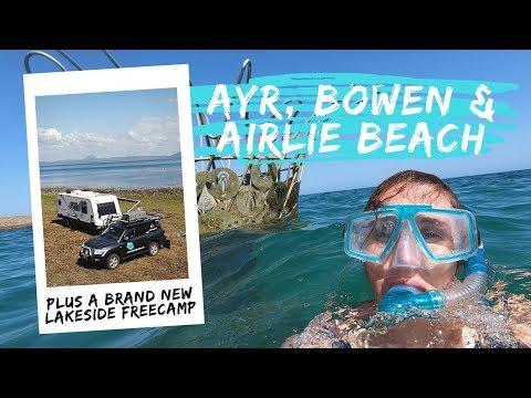 Ayr, Bowen, Lake Proserpine & Airlie Beach: S05 Queensland E10 Road Trip Lap Of Australia