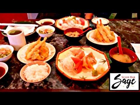 Sushi Bar Sage Japanese restaurant FD4, Las Vegas NV, dinner foodspotting, Sashimi & Sushi Combos!