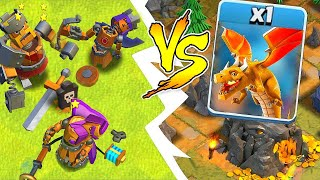 "You Wont Believe Who Wins...""Clash Of Clans"" Clockwork heroes vs Boss!"