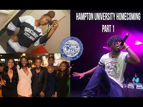 Hampton U Homecoming Pt 1 | College Vlog #9