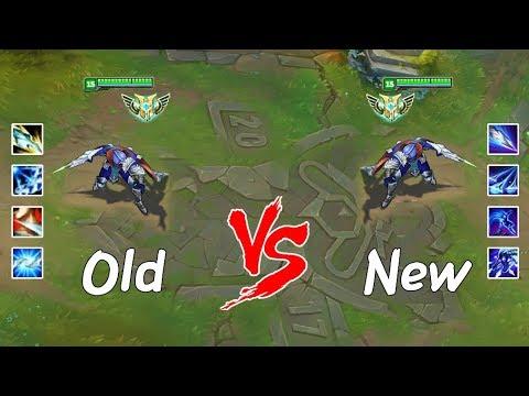 Old Talon vs New Talon