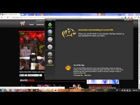 How to download video from wwe com