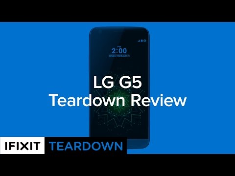 LG G5 Teardown Review!