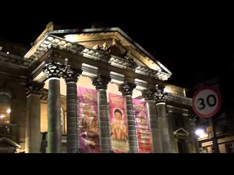 What It Looked Like in 2012 - Theatre Royal In Newcastle Upon tyne Video Shots @ Night